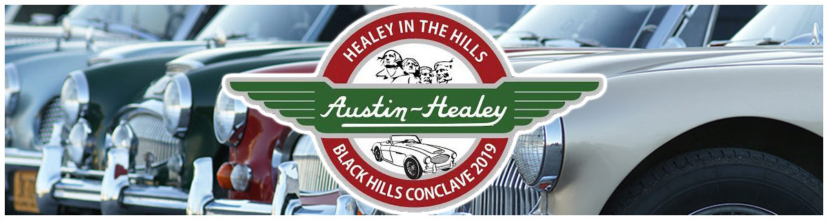 Austin Healey Club of America | Conclave 2019
