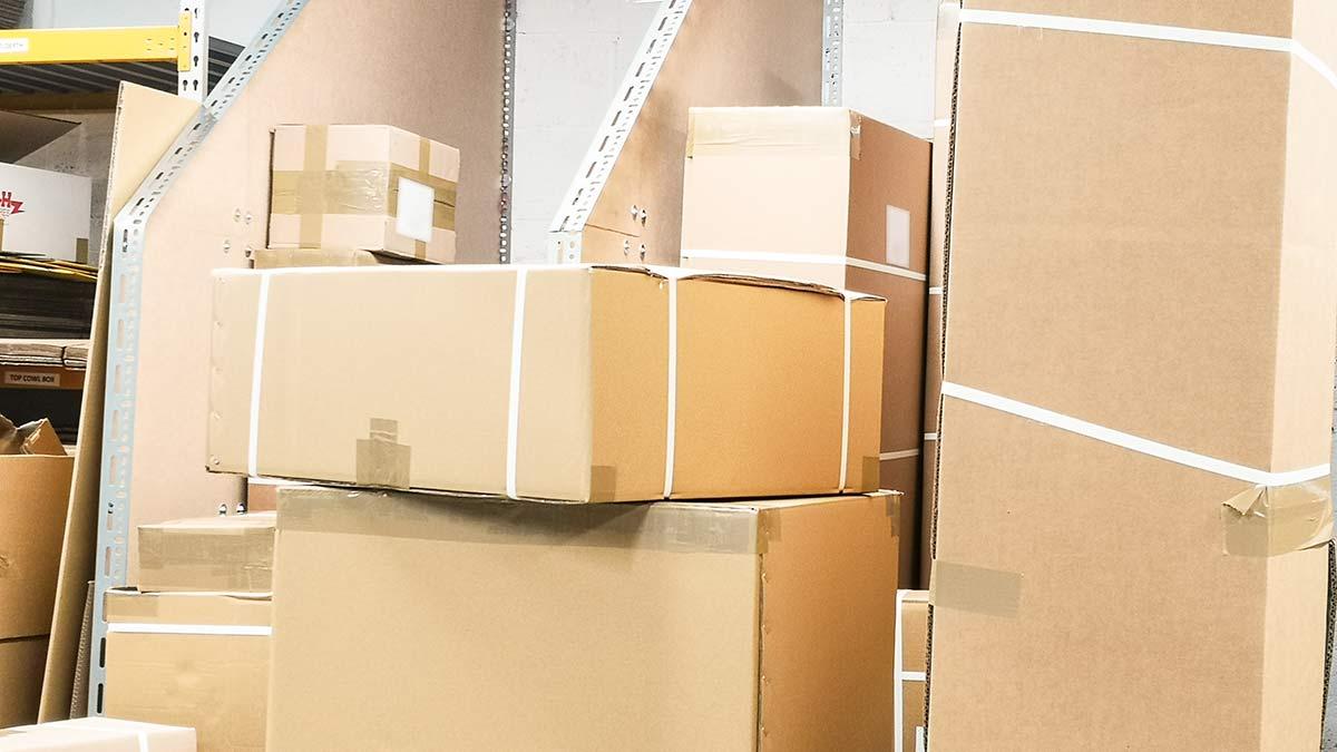 Lots of parcels.