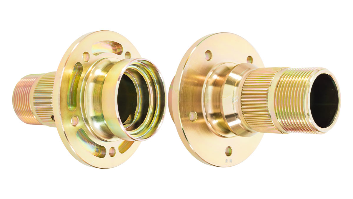 SUF186F & SUF187F | Front racing Hubs | Austin Healey BJ8.26705 ON