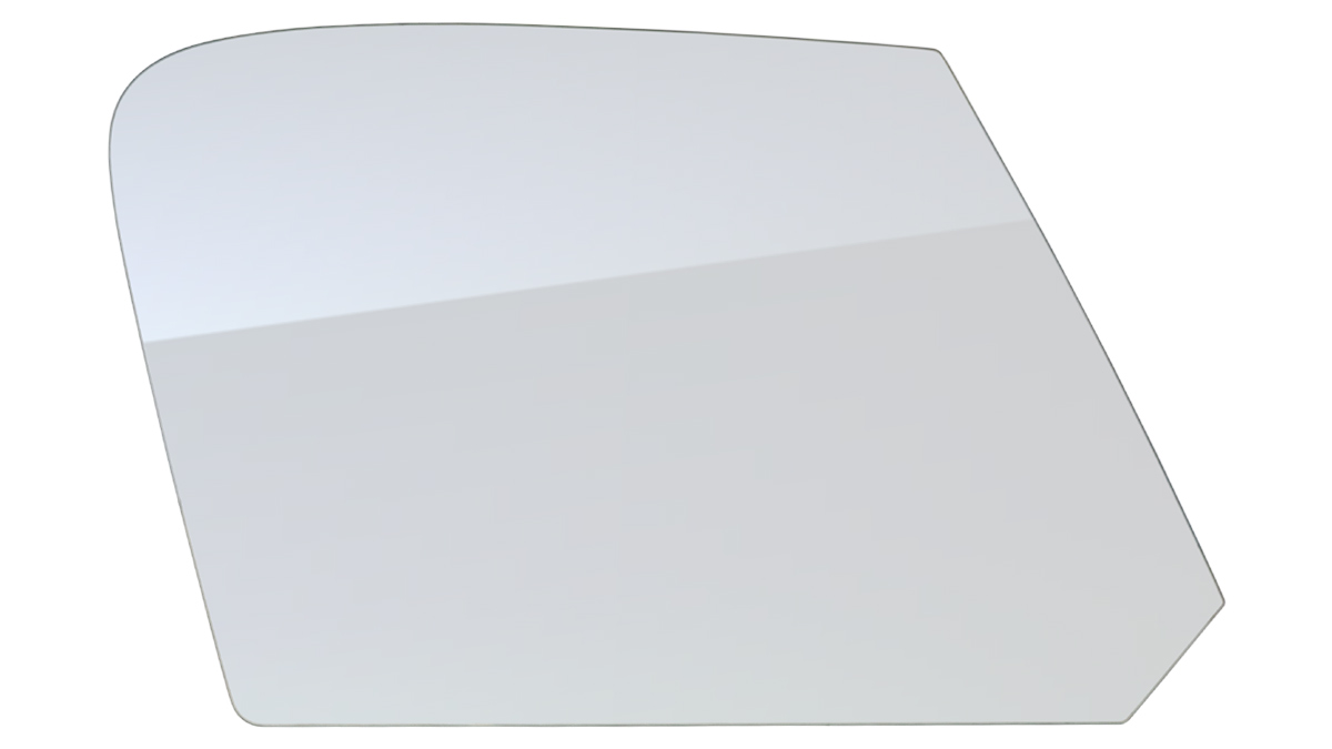 Pilkington Austin Healey door glass - R/H.