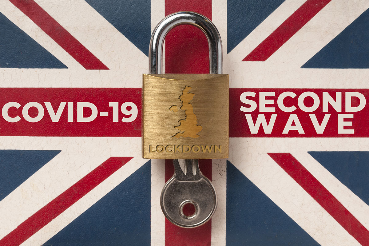 COVID-19 Second Wave UK Lockdown.