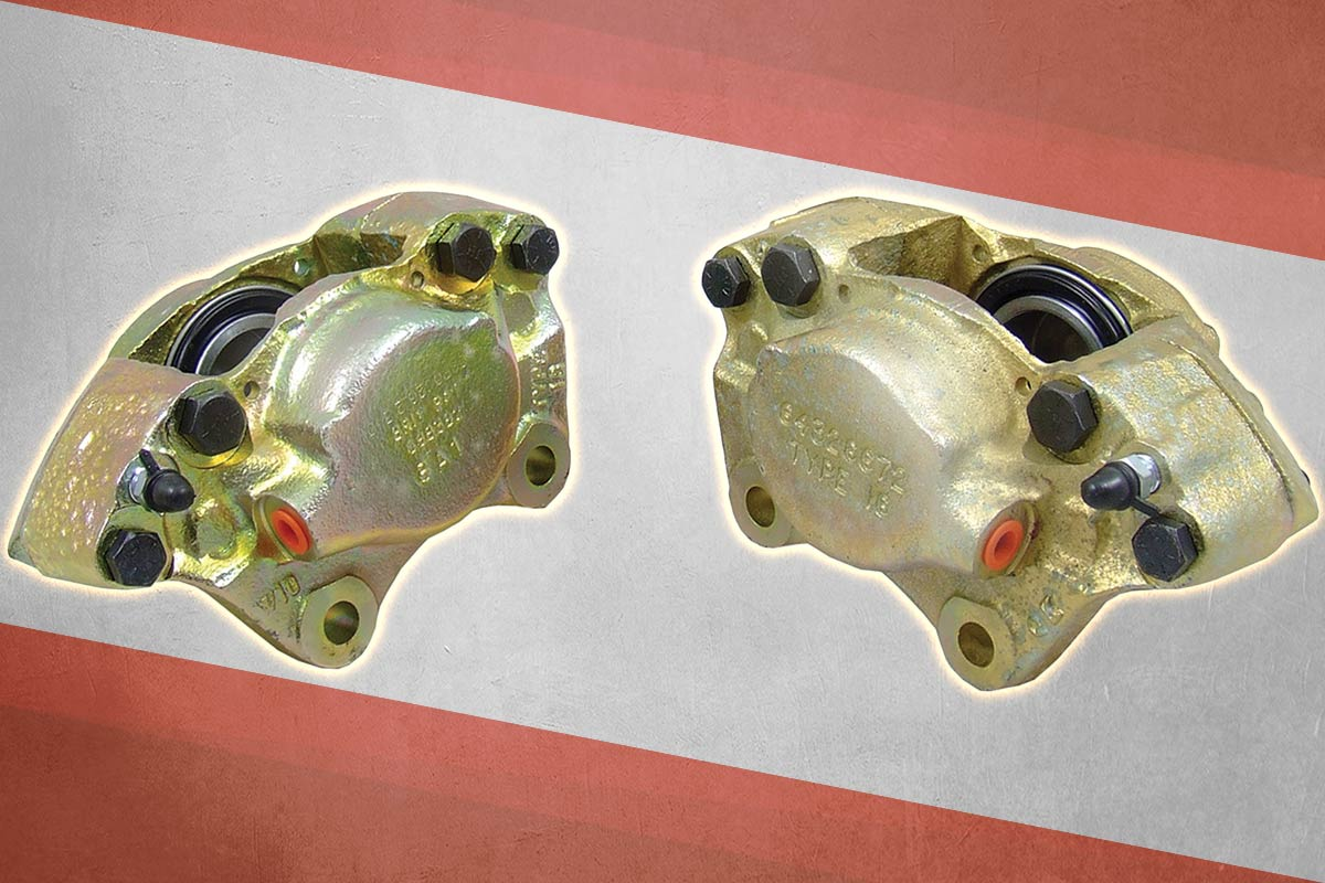 Disc brake calipers for Austin Healey front brakes