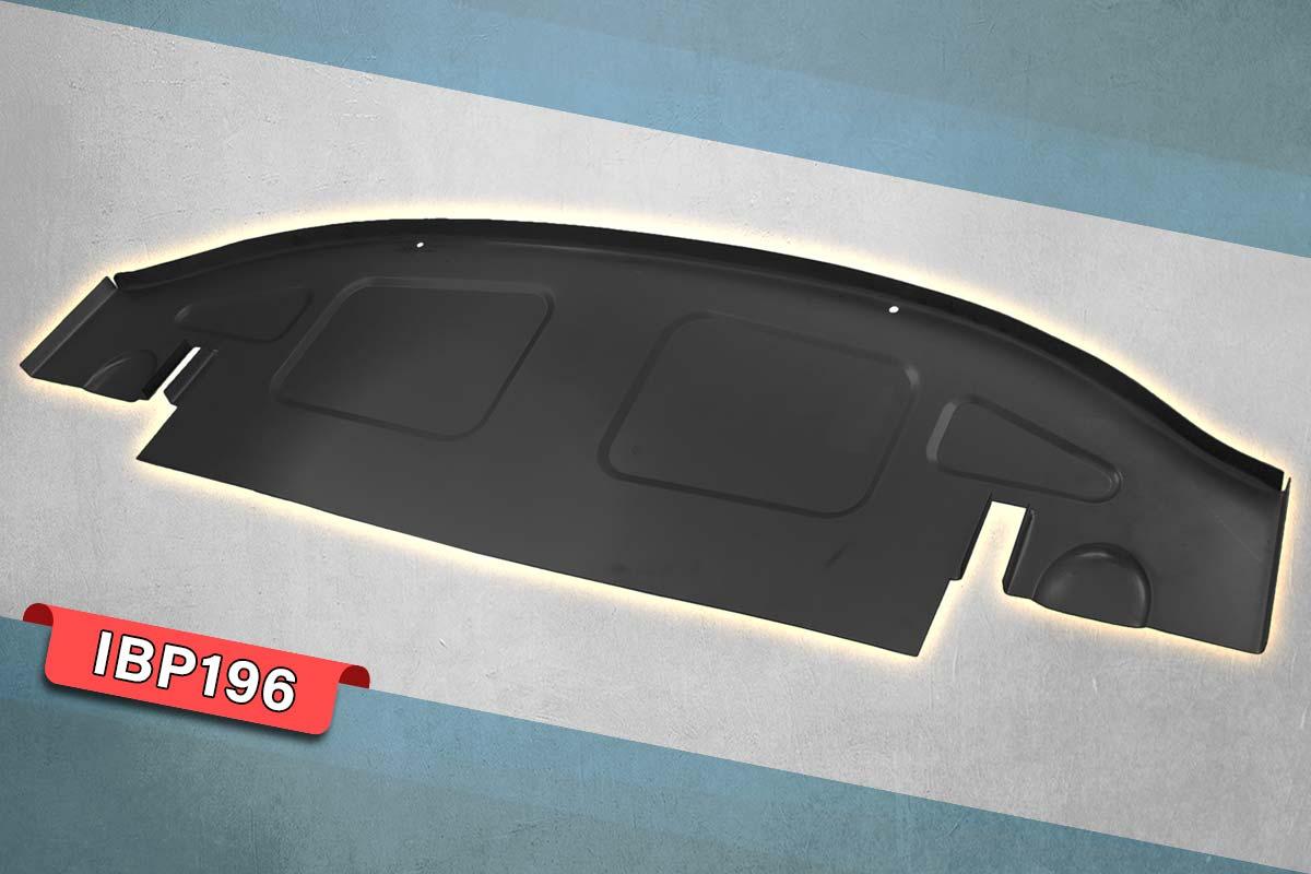 Steel Austin Healey boot floor panel.