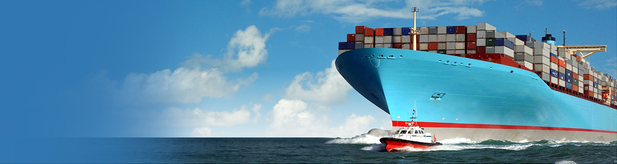 Global shipping | Ocean freight ship.