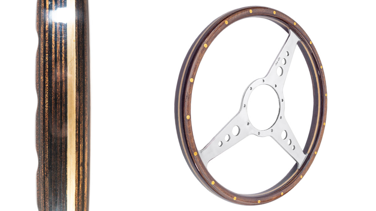 Image of Austin Healey Moto-Lita steering wheels - Drilled.