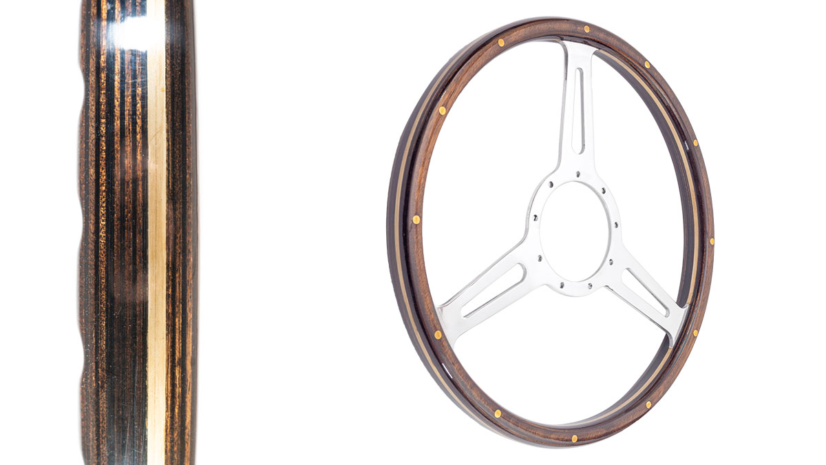 Image of Austin Healey Moto-Lita steering wheels - Derrington.