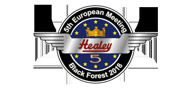 5th European Healey Meet - Black Forest 2018