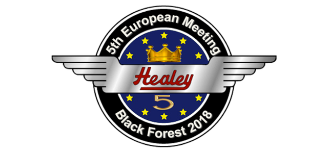 Image of 5th European Healey Meeting 2018 logo