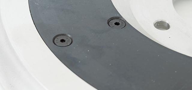 Image of aluminium flywheel