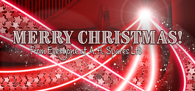 Merry Christmas from A.H. Spares Ltd