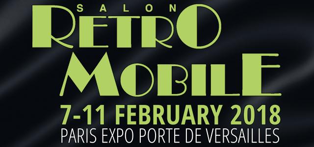 Retro Mobile 7th - 11th February 2018