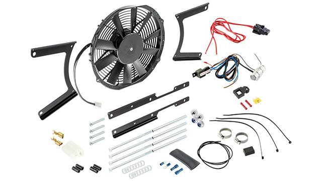 Revotec fan kit for Austin-Healey