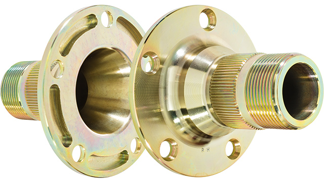 Image of Austin Healey hub extensions pair