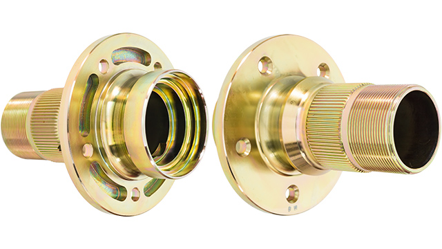 Image of Austin Healey front hub pair