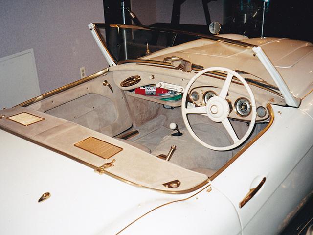 Restoring the interior trim