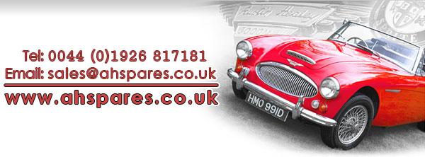 Tel: 0044(0)1926 817181 | Email: sales@ahspares.co.uk | www.ahspares.co.uk