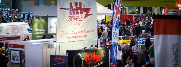 AH Spares at the Classic Motor Show - NEC Birmingham 2015