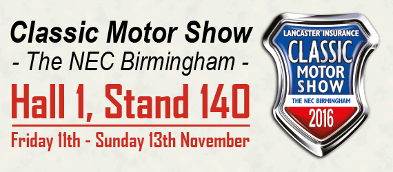 The UK's biggest and best classic motor show.