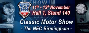Image of NEC Classic Motor Show.