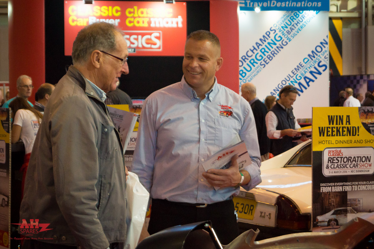 NEC Classic Motor Show 2016 | Hall 1, Stand 140
