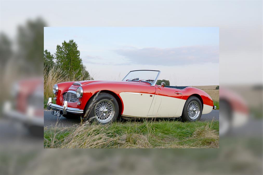 For Sale | 1957 Austin Healey 100-Six | Denmark