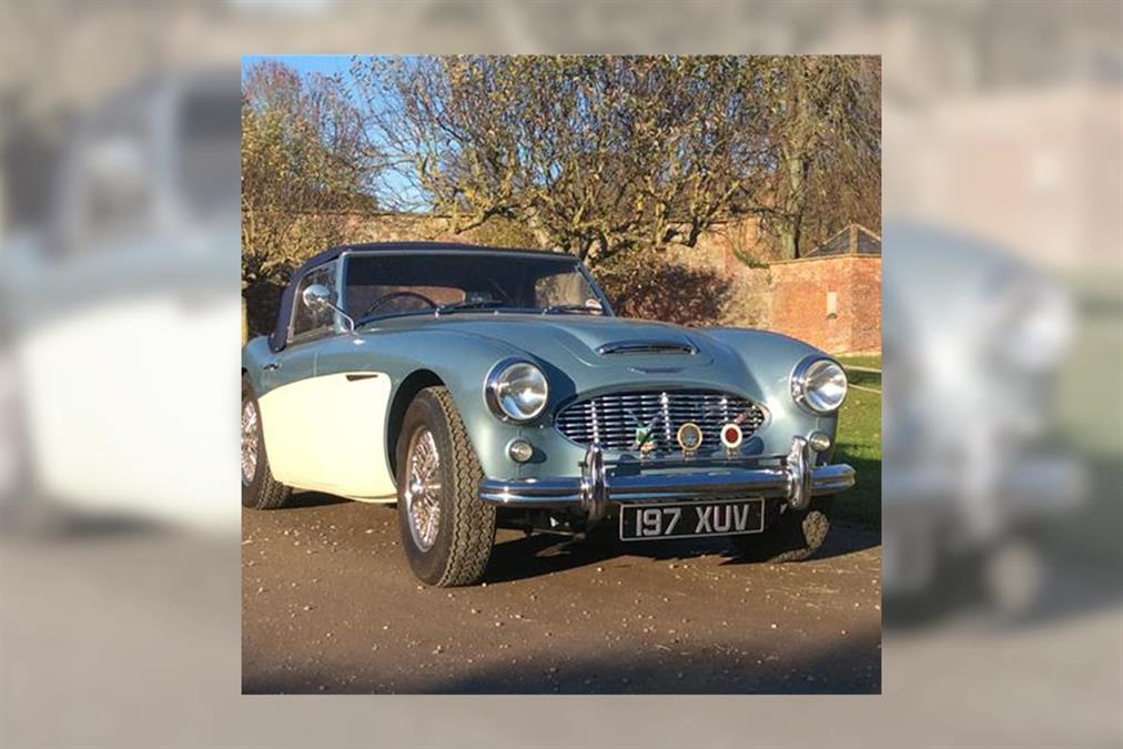 For Sale | 1956 Austin Healey 100-Six BN4 | UK