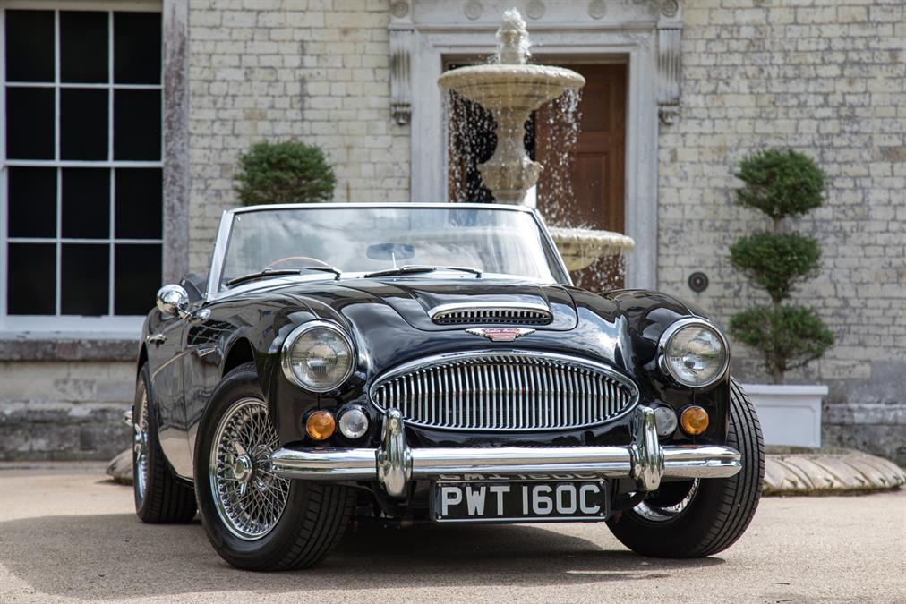 <h1>For Sale - 1965 Big Healey, 3000 MK3, BJ8 Phase II</h1>