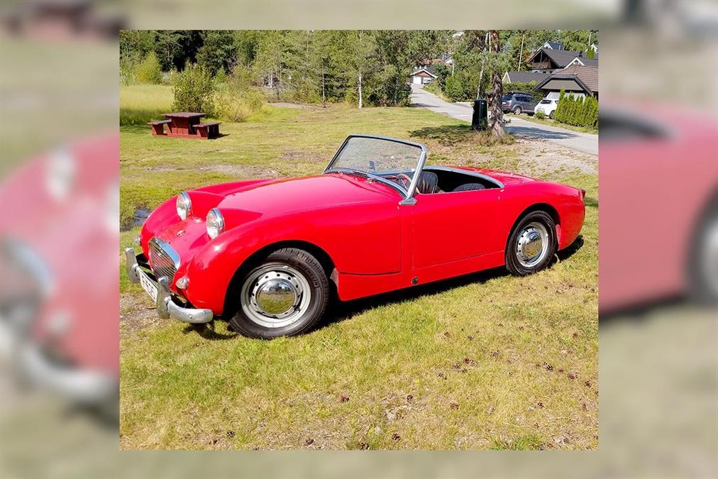 For Sale | 1959 Austin Healey Sprite MK1 Frogeye | Norway