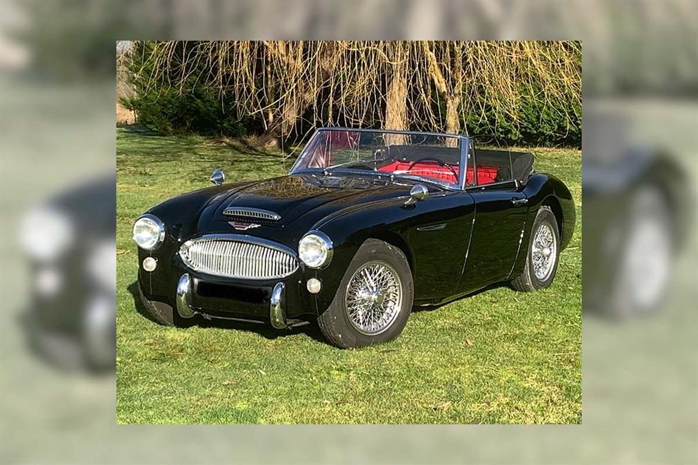 1966 Austin Healey 3000 MK3 BJ8 | France