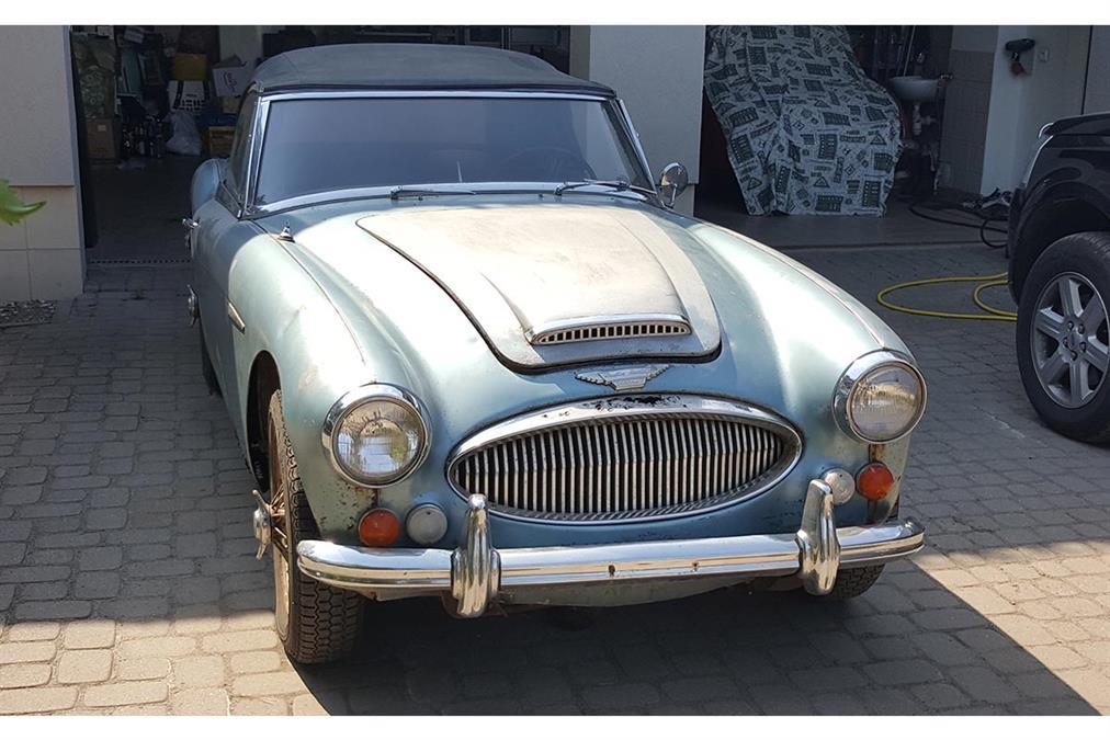 1967 Austi Healey 3000 MK3 BJ8 | Poland