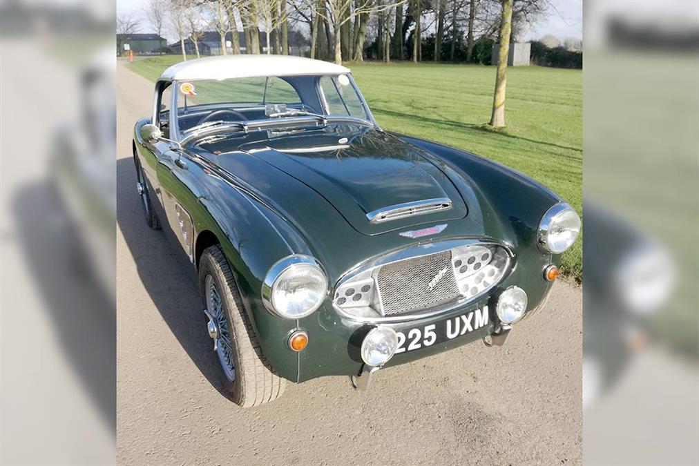 1958 Austin Healey 100-Six BN6 | UK