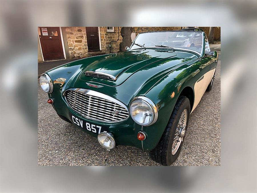 For Sale | 1957 Austin Healey 100-Six BN4 | UK
