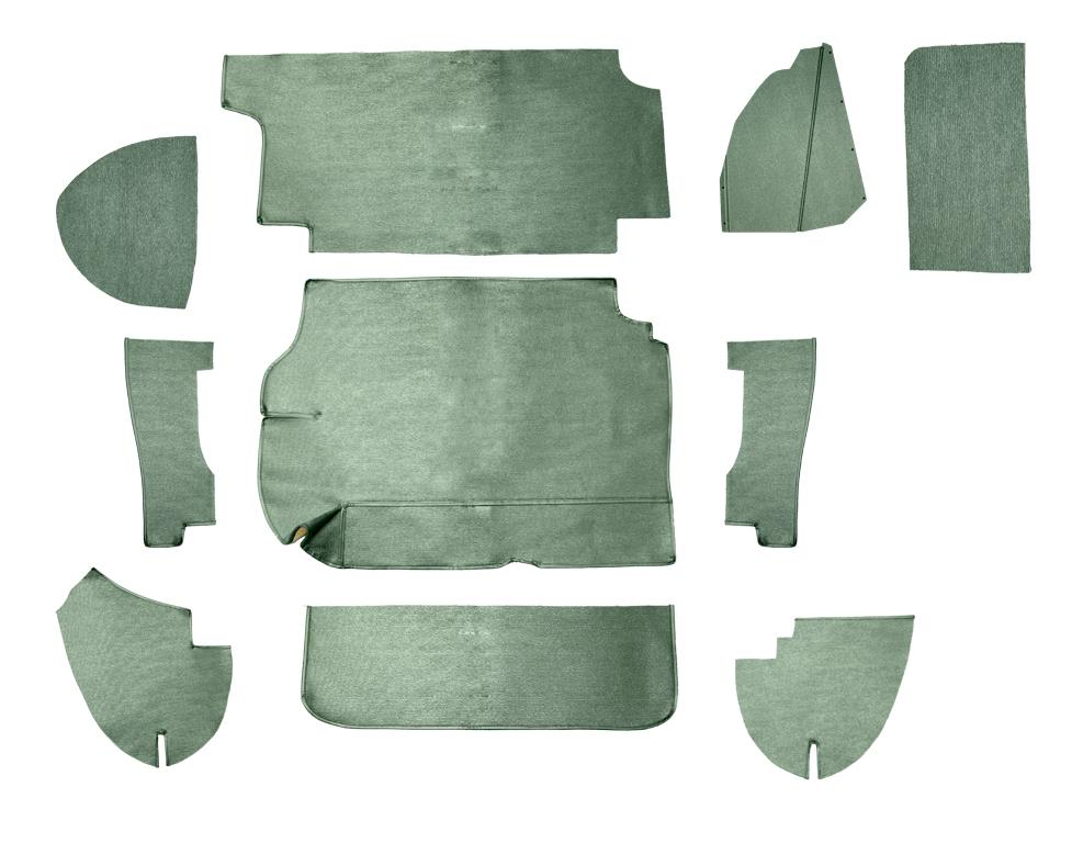 Boot lining kit - green