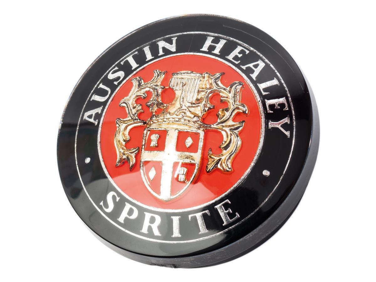 Image of sprite bonnet badge
