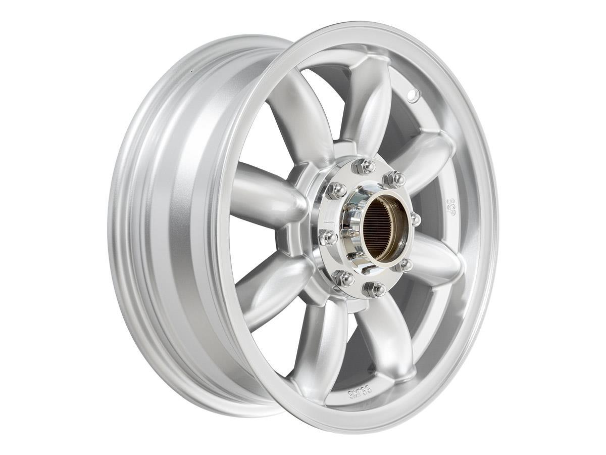 Reproduction Minilite Austin Healey wheels