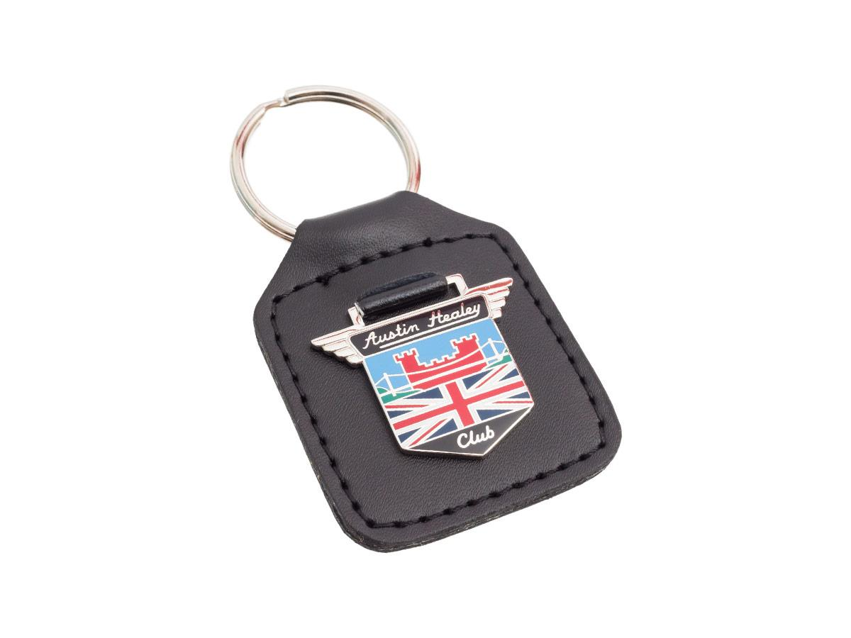 Austin-Healey Club branded key fob.
