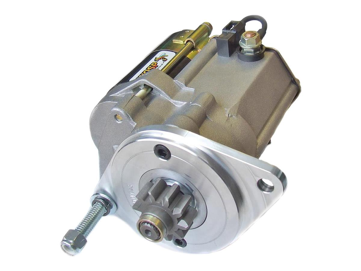 Austin Healey gear reduction starter motor.