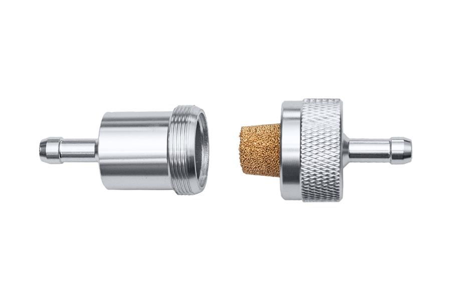 Austin Healey reusable alloy fuel filter.