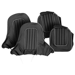 Buy SEAT COVER SET,front-BLACK/WHITE Online