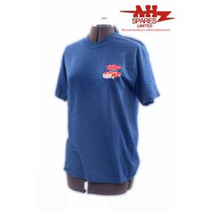 Buy T-SHIRT-medium-blue Online