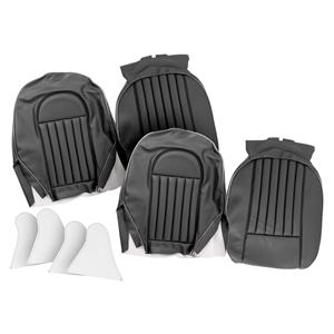 Buy FRONT SEAT COVERS,set-BLACK/SILVER Online