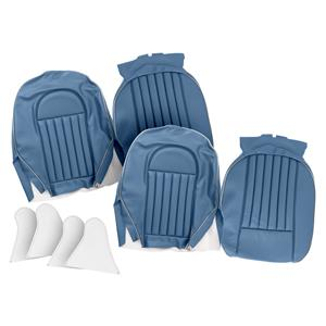 Buy FRONT SEAT COVERS,set-BLUE/SILVER Online