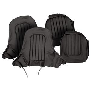 Buy SEAT COVER SET,front-BLACK/BLACK Online