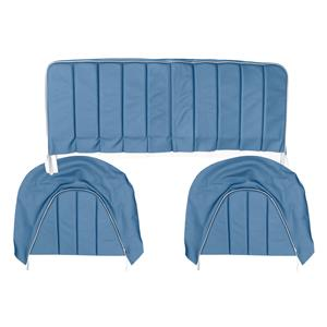 Buy REAR SEAT COVERS,set-BLUE/WHITE Online