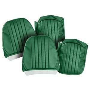 Buy SEAT COVERS-green/green-PAIR-LEATHER Online