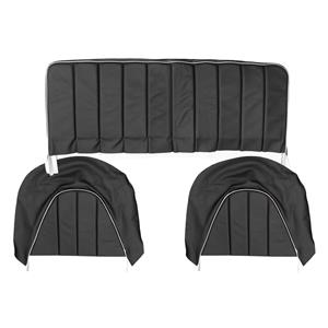 Buy REAR SEAT COVERS,set-BLACK/WHITE Online