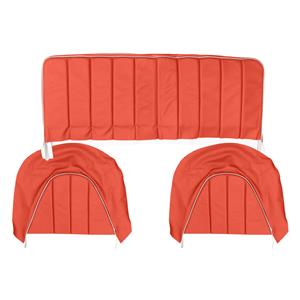 Buy REAR SEAT COVERS,set-RED/WHITE Online