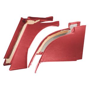 Buy REAR QUARTER PANELS-RED-set of 4 Online