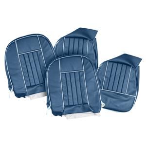 Buy SEAT COVERS-blue/white-PAIR Online