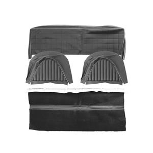 Buy REAR SEAT COVER SET-BLACK/SILVER Online